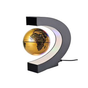 """3"""" Magnetic Floating World Globe Educational Gifts Coloful Lamp for Teens Adult"""