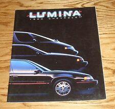 Original 1990 Chevrolet Lumina Sales Brochure 90 Chevy