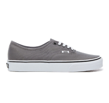 VANS AUTHENTIC Pewter Masculino Canvas Low-Top Tênis Kicks VN 000 jrapbq Tamanho