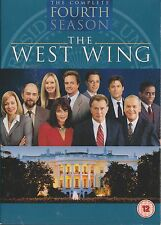 THE WEST WING - Series 4. Martin Sheen, Rob Lowe, Dule Hill (6xDVD BOX SET 2007)