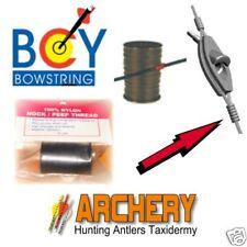 BCY BLACK NOCK & PEEP SIGHT SERVING TYING THREAD Bow String Archery Bowstring