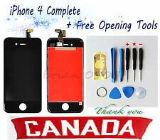 Replacement Black Touch Screen LCD Digitizer Assembly For iPhone 4
