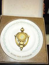 "Avon Second Anniversary Plate ""The Avon Doorknocker"""