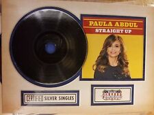 2015 Donruss Americana #1 Paula Abdul Straight Up Certified Silver Singles