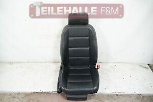 Audi A6 C6 4F Beifahrersitz Ledersitz schwarz vorn rechts elektrisch 8E0881106CA