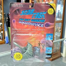 Star Trek The Next Generation Innerspace Series Romulan Warbird Mini Playset NIB