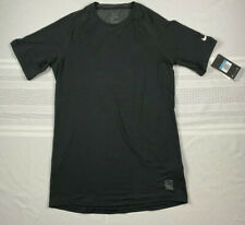 Nike Pro Men's Hypercool Training SS TOP Shirt Sz. M NEW AQ9570-010 BLACK.