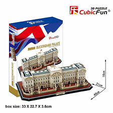 3D Jigsaw Puzzle Scale Model DIY Toy Monument London England Buckingham Palace