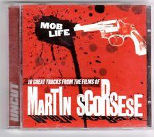 (GQ230) Mob Life, Martin Scorsese, 16 tracks various artists - 2004 - Uncut CD
