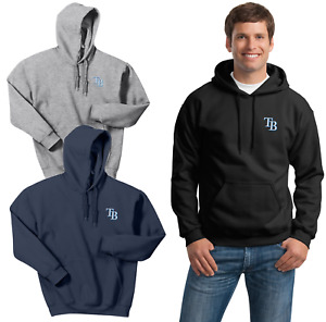 Tampa Bay Rays Hooded Sweat Shirts  Embroidered