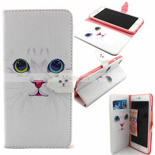 Vogue -YX Cat  Design Wallet Body Leather Case Cover For Call Phone