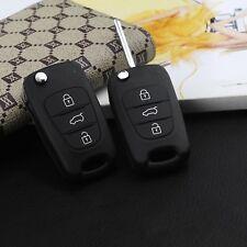 2pcs Cover helmet key shell 3 button For Hyundai i30 i20 Elantra remote control