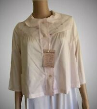 Vintage NOS 1979 Shadowline~Cuddlemere Pink Resting/ Bed Jacket Cozy Cute NWT