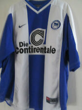 Hertha Berlin 1999-2000 Home Football Shirt Size XL / 39109