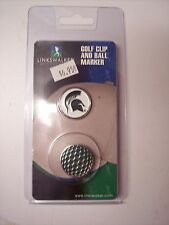Michigan State Spartans Golf Hat Clip Round Ball Mark NEW