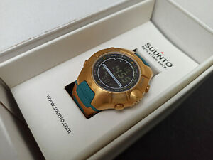 Custom made Suunto Observer 18K Gold plated - Pharao Edition *must have!* *OVP*