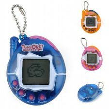 Virtual Pet Game Cat Dog Electronic Game Keychain Keyring Tamagotchi Toys Gift