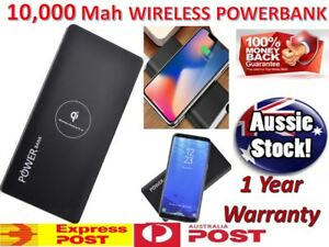100000 QI Wireless Power Bank Phone Charger Portable External Battery Pack