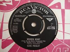 Elvis Presley 45 Wooden Heart/Tonight Is So Right For Love (RCA Victor 1226, UK)