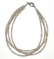 Men/'s Women Labradorite Sterling Silver Bracelet Strong Flash Rare Gemstone 245
