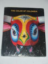 THE COLOR OF COLOMBIA Book by Libreria Nacional 2013 NEW