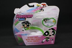 The PowerPuff Girls Buttercup Ride the Ray Speed Line Vehicle & Figure Pack NEW