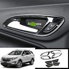 FOR Chevrolet Equinox 2018-2020 black titanium Inner door handle bowl cover trim