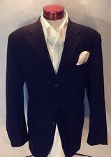 B627 Men's Chaps by Ralph Lauren Navy Blazer 100% Wool Size 42R Canada