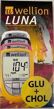 Wellion Luna (misuratore glicemia e colesterolo con strisce e lancette glicemia)