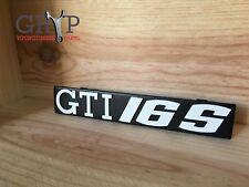 VW Golf I GTI 16S - Logo de calandre GTI 16S
