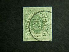 LUXEMBOURG SCOTT #11 VERY FINE USED CAT $200.00