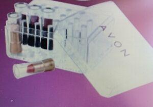 AVON Sample Case ~ Lipstick Tester Holder ~ Case Holds 30 Lipstick Samples