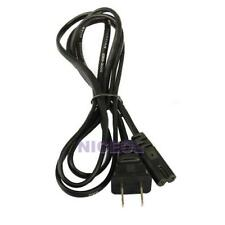 4.9Ft 2-Prong Port AC Power Cord Cable for Sony Playstation PS2 PS3 Slim Edition