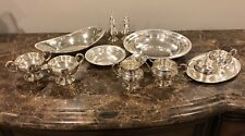 Sterling Silver Bowls, Sugar And Creamer Bowls,Tray And Other 1,294grs No Scrap