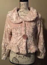 Soulmates Faux Fur Bolero Coat Jacket