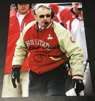 Jim Tressel Ohio State Buckeyes OSU Signed 8x10 Photo Authentic Autograph Auto 2