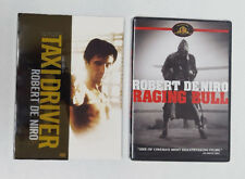 Lot of 2 Robert De Niro Dvds: Raging Bull & Taxi Driver