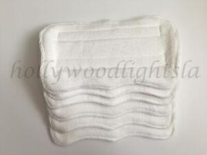 6X Mop pads REFILLs fits SWIFFER WET JET Washable Reusable Absorbent MICROFIBER