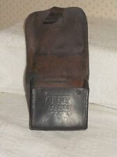 Original Civil War Union Leather Artillery Fuse Box -Marked US Navy YardNY 1864