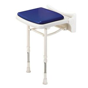 AKW 02000 - 02000P - 02200P COMPACT FOLD UP 2000 SERIES SHOWER SEAT WITH LEGS