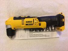 New Dewalt DCD740B 20 Volt 20V Max 2 Speed Right Angle Drill Driver Lithium Ion