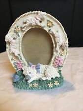 Ceramic Picture Frame 3x4� (Sheep's) Small. Perfect For Babies First Picture.