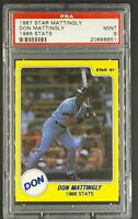1987 Star #2 Don Mattingly 1986 Stats PSA 9 Mint Pop 7 *Only 3 Graded Higher*
