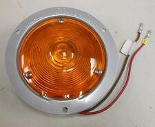 TW1958 SIGNAL-STAT 3600 SERIES AMBER TURN SIGNAL LIGHT LAMP 24V