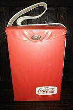 OLD VINTAGE RARE ARGENTINA COCA COLA COOLER VINYL PICNIC LUNCHBOX DRINK COKE