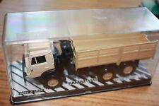CAMION TRUCK KAMAZ 4310 RUSSE USSR CCCP URSS Sable PLATEAU RIDELLES  1/43