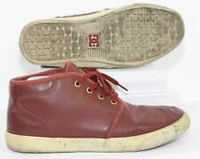 DC Shoes Mens Studio Mid LE Burgundy Leather Over The Ankle Skate Shoes Size 7.5