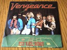 "Vengance-ROCK 'N ROLL doccia 7"" VINILE PS"