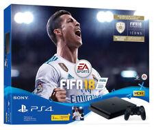 Sony PLAYSTATION 4 FIFA 18 e più BUNDLE CONSOLE 1 TB Matte Black