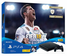 Sony PlayStation 4 Slim Fifa 18 Bundle 1TB Matte Black Console